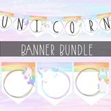 Unicorn Banner Bundle