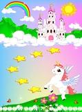 Unicorn Behavior Rewards Chart for Kids