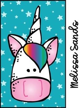 Unicorn Binder Covers {Editable FREEBIE}