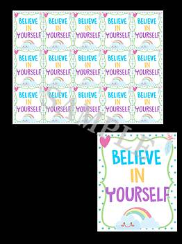 Unicorn Brag Tags - For Self-Esteem and Character Education