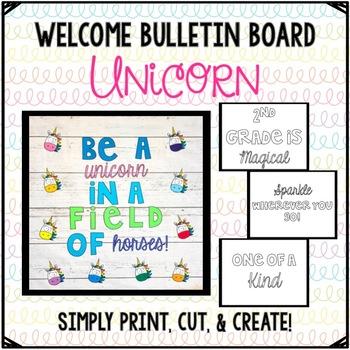 Unicorn Bulletin Board