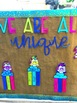 Unicorn Bulletin Board & All About Me Activity