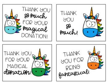 Unicorn Classroom Wish List