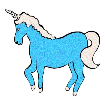Unicorn Clip Art 52 clips in Colors and Textures