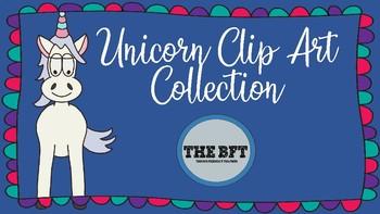 Unicorn Clip Art Collection