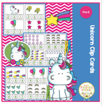 Unicorn Clip Cards