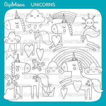 Unicorn Clip Art, Mythical Animals