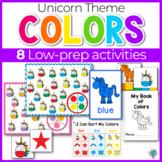 Unicorn Color Activities   Unicorn Color Sorting   Math Centers