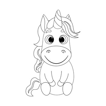 Unicorn Coloring Book for Kids - Unicorn Coloring Pages ...