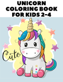 Unicorn Coloring Book for Kids - Unicorn Coloring Pages fo