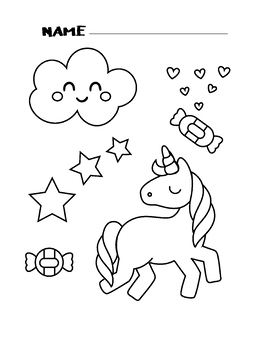 Unicorn Coloring Pages Printable Coloring Book For Kids By Marvis Teaching