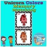 Unicorn Colors Memory Matching Game #dollardeals