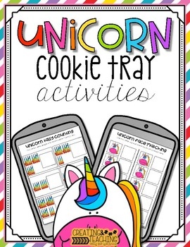 Unicorn Cookie Tray Activities