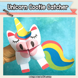 Unicorn Cootie Catcher - Fortune Teller Craft