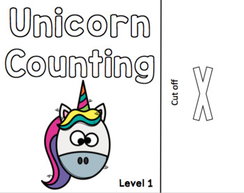 Unicorn Counting Adapted Book
