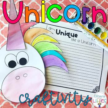 Unicorn Craftivity {Craft and Writing}