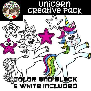 Unicorn Creative Pack {63 graphic bundle}