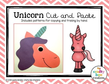 Unicorn Cut and Paste