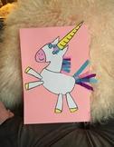 Unicorn Cut n' Assemble Art Project