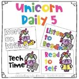 Unicorn Daily 5 Station Signs, Unicorn Center Signs, Unicorn Station Signs