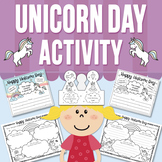 Unicorn Day Activity (Distance Learning)