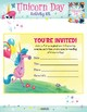 Unicorn Day Activity Kit