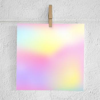 Unicorn Digital Paper, Unicorn Gradient Backgrounds, Unicorn Ombre