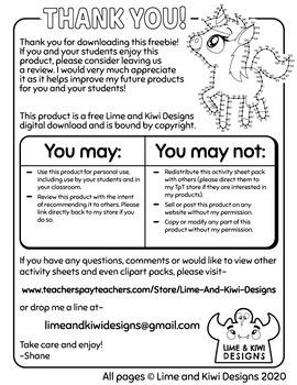 Unicorn Dot to Dot Freebie Activity Sheet  - Digital Download