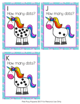 Unicorn Dots Count the Room