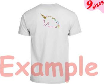 Unicorn Embroidery Design file 4x4 5x7 hoop forest horse pink horn birthday 163b