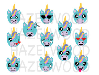 Unicorn Expressions Clip art, Unicorn Face, PNG, Download, clipart, Emoji