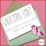 Unicorn Font-Regular