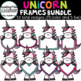 Unicorn Frames {Unicorn Clip Art}