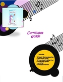 Unicorn Jazz Curriculum, Activity Guide with Coloring Book Pages