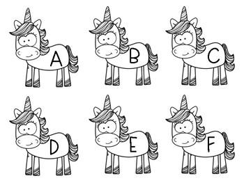 Unicorn Letter Parade