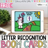 Unicorn Letter Recognition BOOM Cards | Digital Task Cards