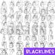 Unicorn Clip Art- Letter Clip Art A-Z {jen hart Clip Art)