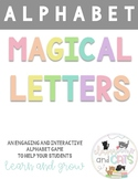 Write the Room-Letter and sounds identification game