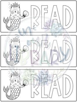 Purrmaid Bookmarks