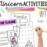 Unicorn Magic! Math & Literacy Bundle | EASY PREP Common C