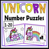 Unicorn Math - Number Puzzles 1-20