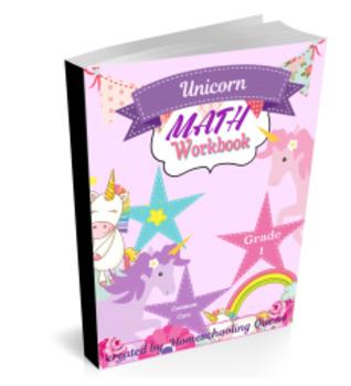 Unicorn Math Workbook