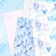 Unicorn Modern Digital Paper- Unicorn Backgrounds - 8.5 x