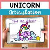 Unicorn No Print Articulation Activity