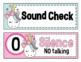 Unicorn Noise Level Chart