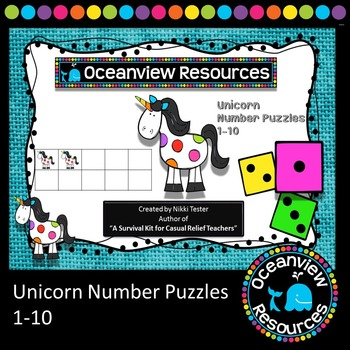 Unicorn Number Puzzles 1-10