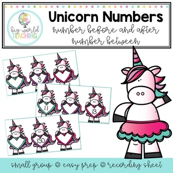 Unicorn Numbers - Number Sense