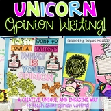 Unicorn Opinion Writing