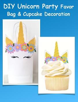 Unicorn Party Favor Bag