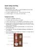 Unicorn Party Free PDF Version - Primary Grades Math Addition Game